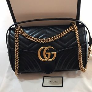 AUTHENTIC GUCCI SMALL MARMOUNT MATELASSE